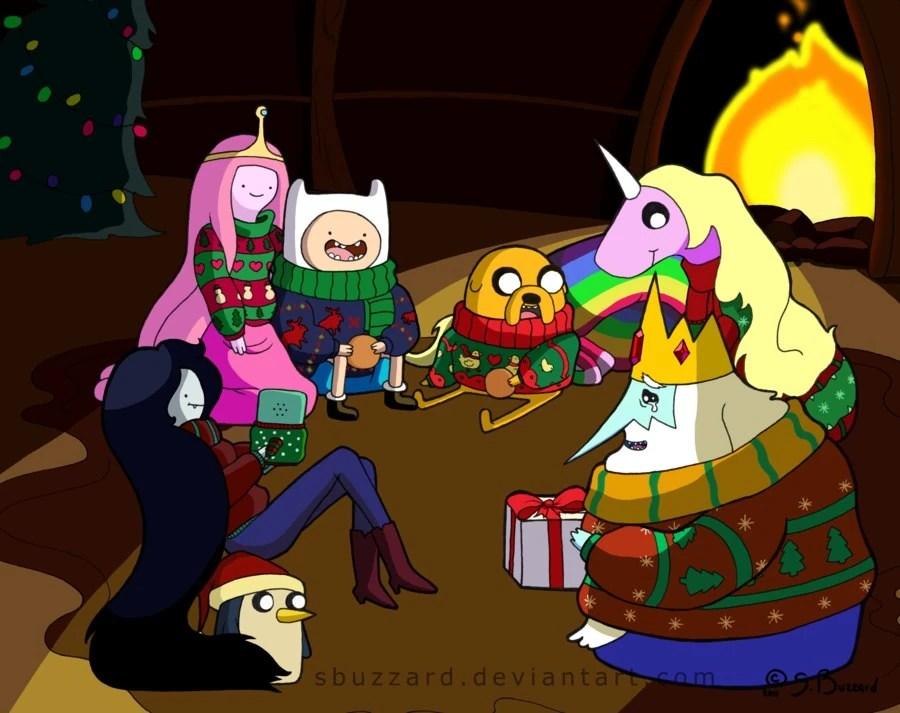 Pusheen Fall Wallpaper User Blog Bigez620 An Adventure Time Christmas Adventure