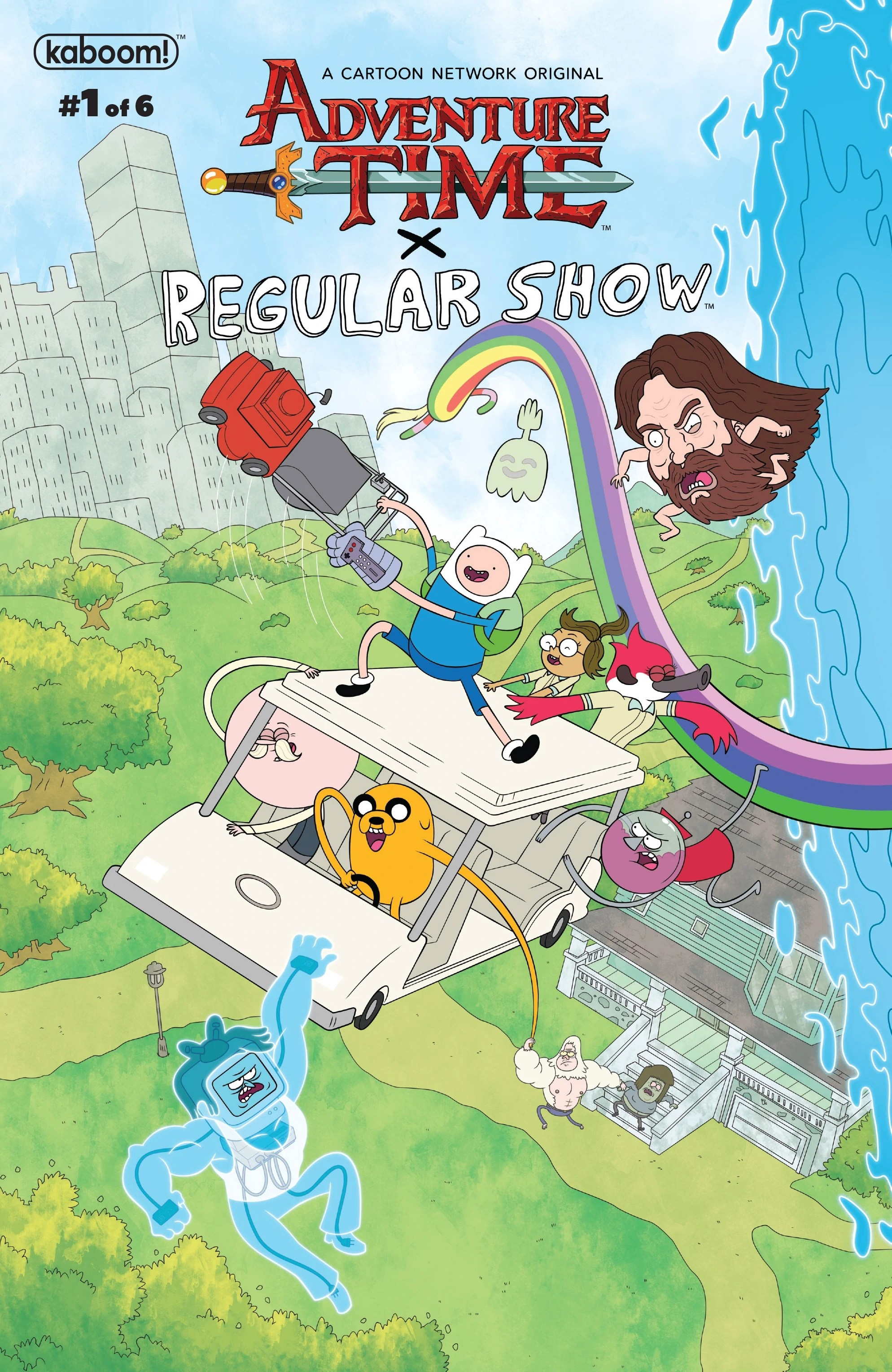 Adventure Time Regular Show Issue 1 Adventure Time Wiki