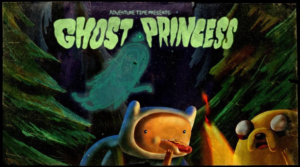 Ghost Adventure Time Finn