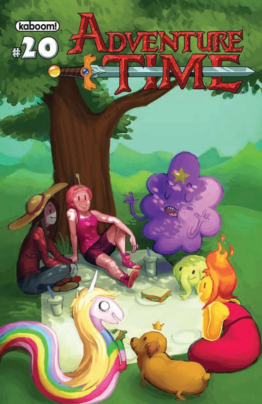 Issue 20 Adventure Time Wiki Fandom Powered By Wikia