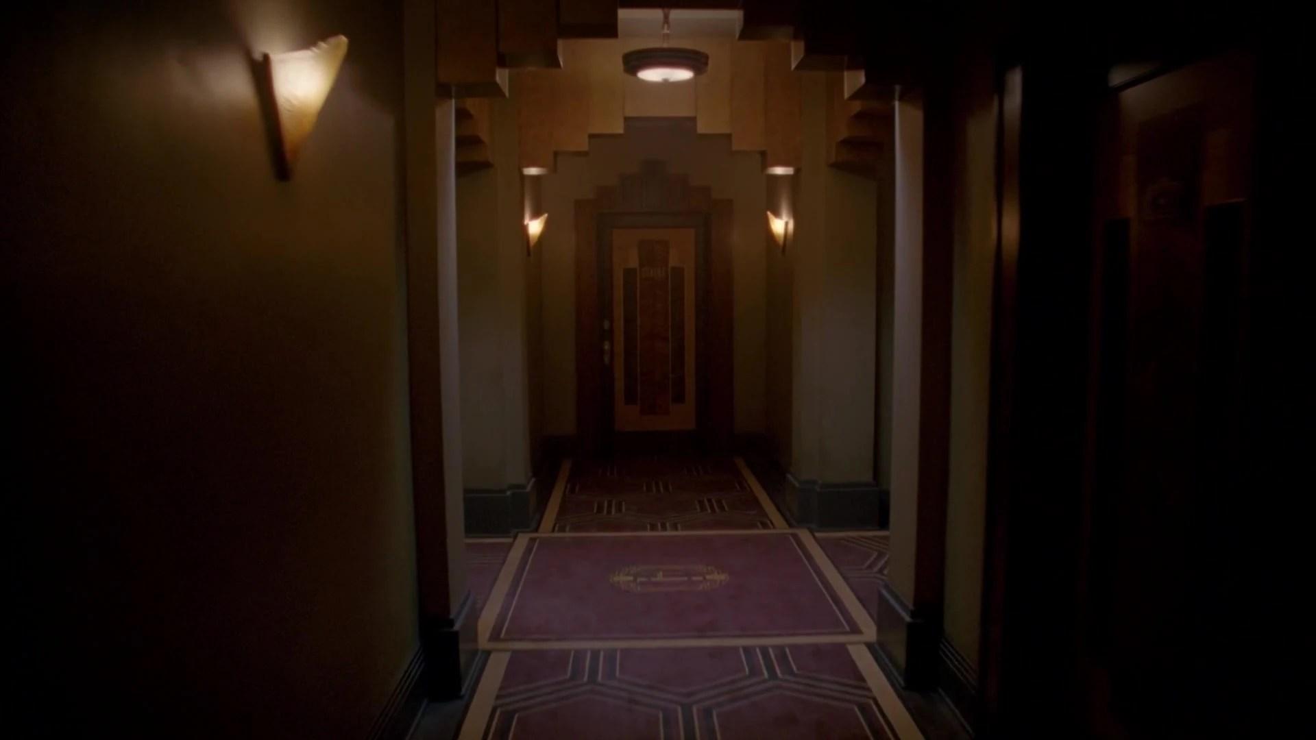 Hotel Cortez Hallway American Horror