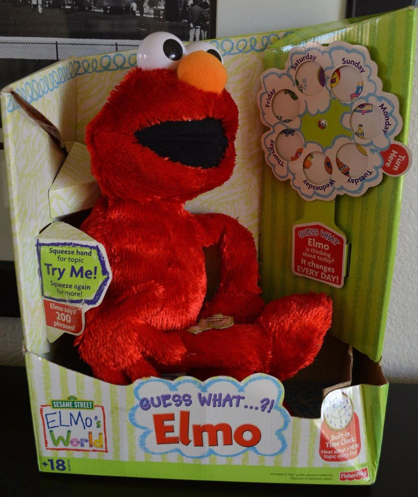 guess what elmo animatronic