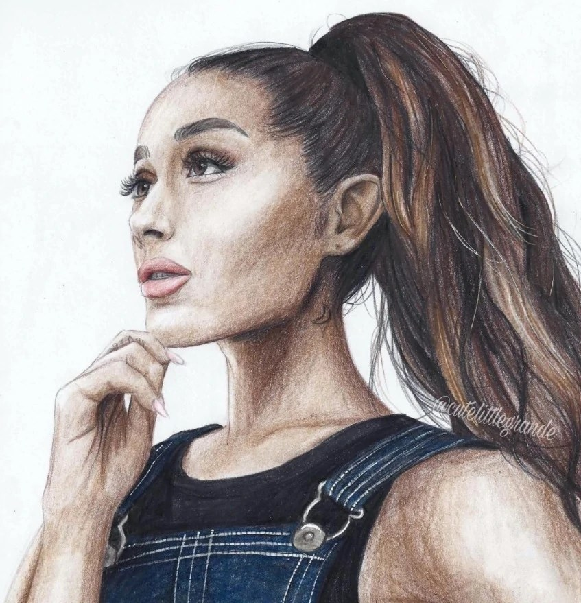 Break Free Ariana Grande Cartoon - Exploring Mars