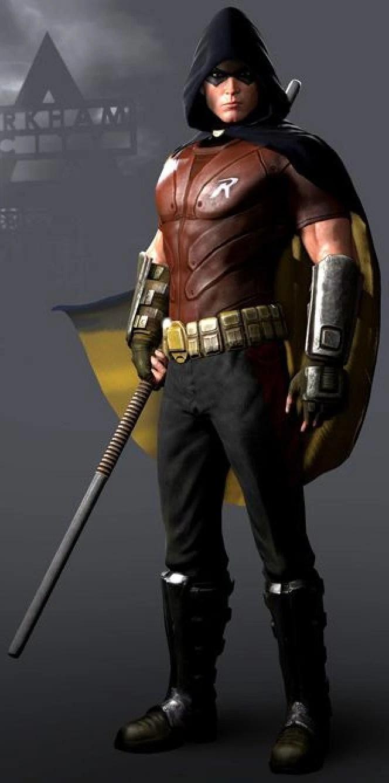 Robin Batman Arkham Asylum Wiki FANDOM Powered By Wikia