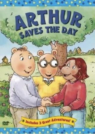Arthur Saves The Day DVD Arthur Wiki FANDOM Powered By Wikia