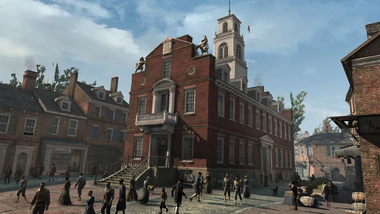 American Wallpaper Fall River Ma Old State House Assassin S Creed Wiki Fandom Powered