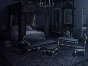 dark bed anime bedroom background backgrounds apartment scenery episode club takuto messiah night living rooms vampire window hotel animation izaya