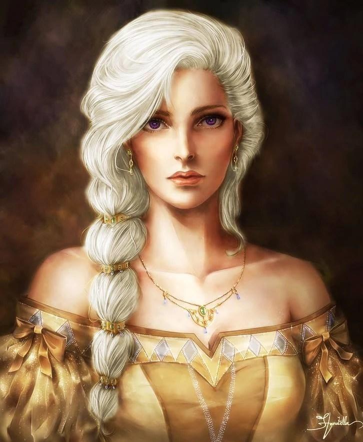Blue Eyes Song Girl Wallpaper Helaena Targaryen Awoiaf Rp Wiki Fandom