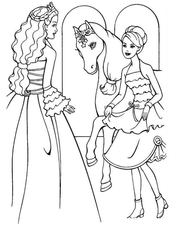 Animals And Flowers: Coloring Pages Printable Barbie. Latest Full Hd Coloring Pages Printable Barbie Of Computer Pics Image Childrenprintablebarbiecoloringpagesnewon File Children Barbie New On Decoration Kids