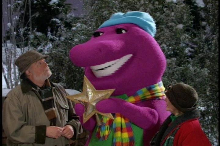 barney s christmas star