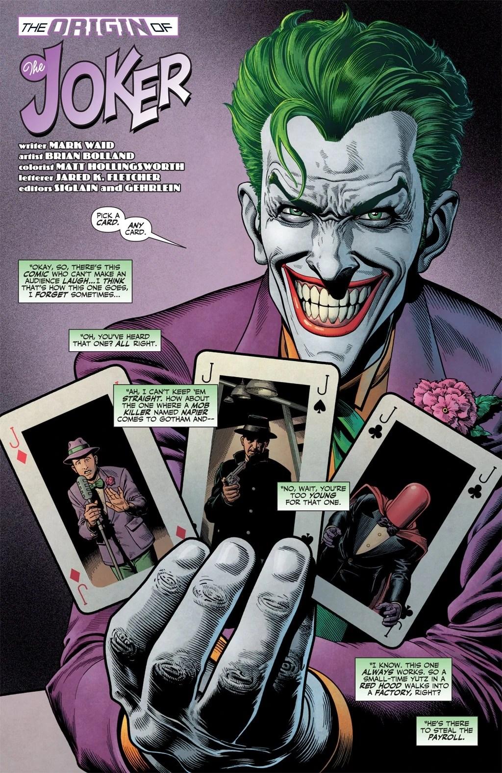 Batman Comic Joker Real Name