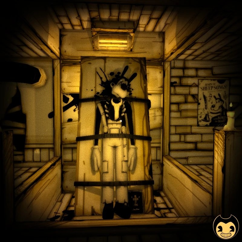 Bendy And The Ink Machine Main Characters Cute Wallpaper Boris Room Bendy And The Ink Machine Wiki Fandom
