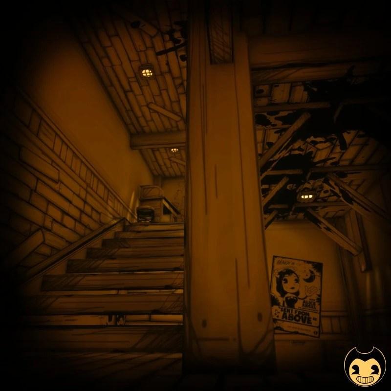 Stairways 3  Bendy and the Ink Machine Wiki  FANDOM