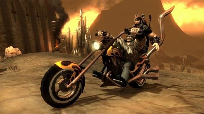 Boy And Girl On Bike Wallpaper Fire Baron Brutal Legend Wiki Fandom Powered By Wikia