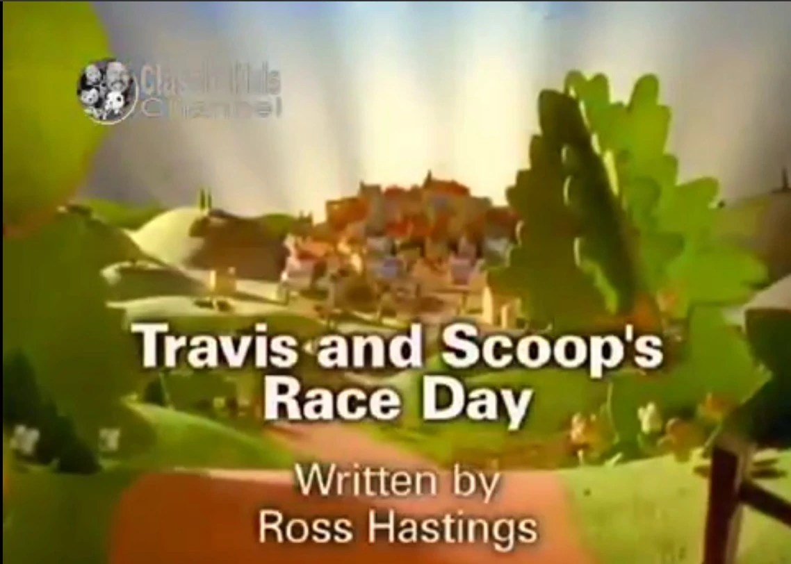 Travis And Scoop's Race Day Gallery Bob The Builder Wiki