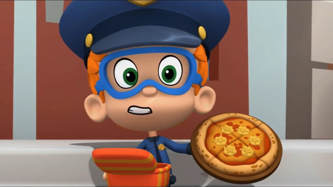 Badgeroni pizza  Bubble Guppies Wiki  FANDOM powered by