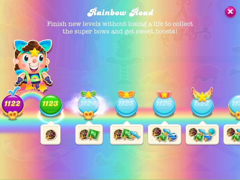 candy crush sofa corner bed with storage amazon rainbow road soda wiki fandom powered by wikia screen