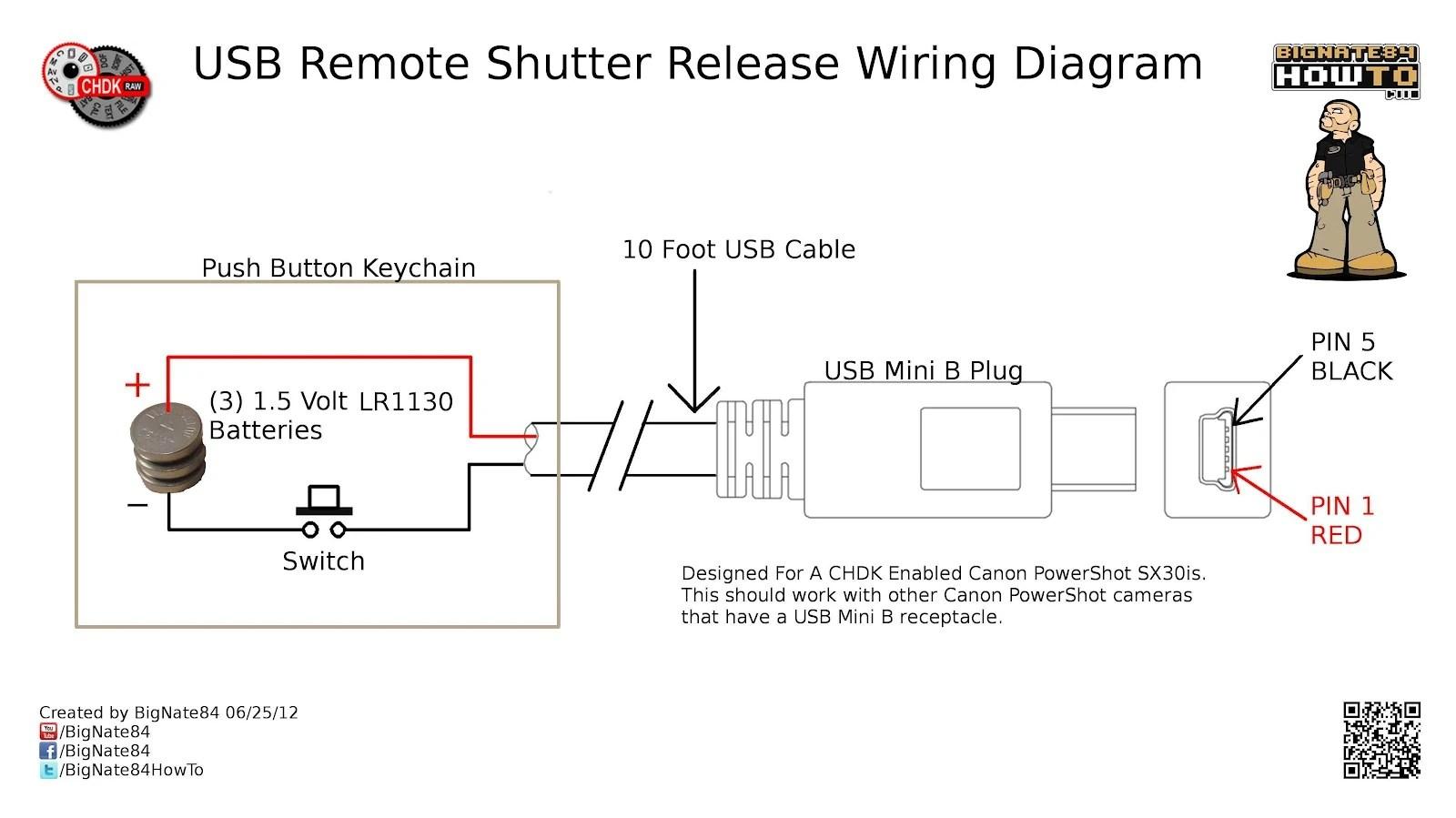 Image 0001 USB Remote Shutter Wiring Diagram 1 Jpeg CHDK Wiki