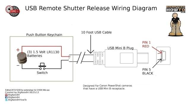 Image  0001 USB Remote Shutter Wiring Diagram 3jpeg   CHDK Wiki   FANDOM powered by Wikia