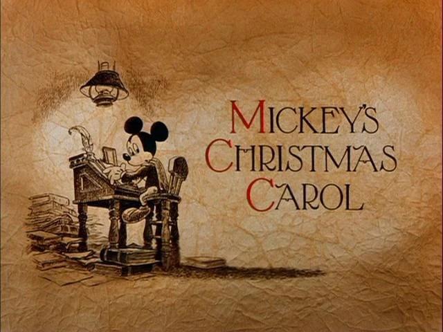 Mickeys Mickey Christmas Carol