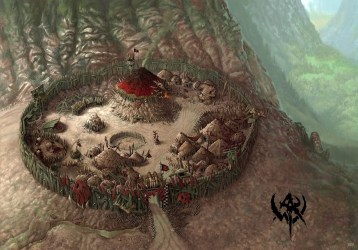 goblin camp orc village wyvern tor castle mountain session dnd tribe act warhammer goblins wikia file fantasy war encampment army