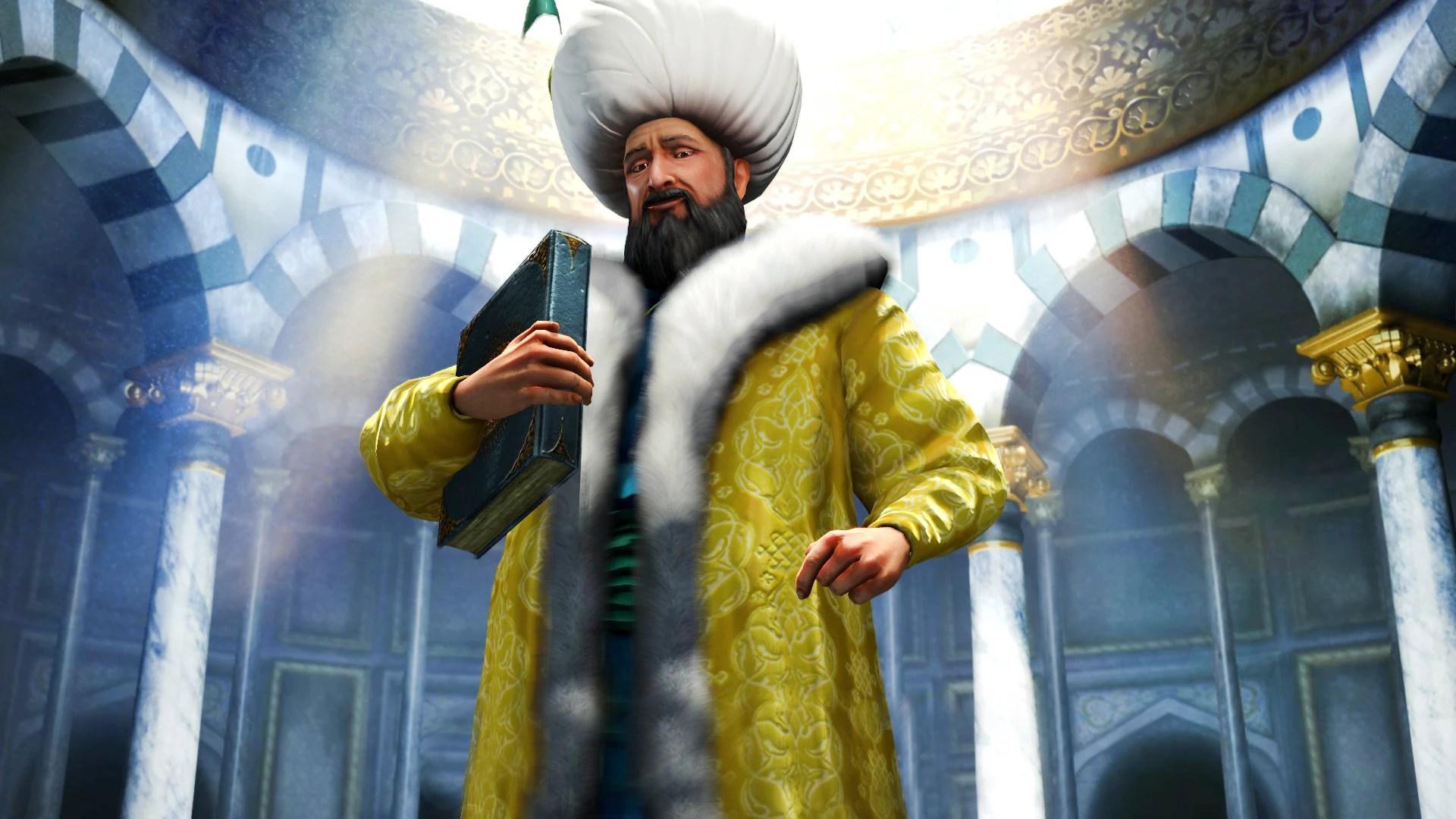 King Of The Fall Wallpaper Suleiman Civ5 Civilization Wiki Fandom Powered By Wikia