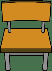 chair classroom desk clipart penguin wiki club wikia fandom powered latest clubpenguin