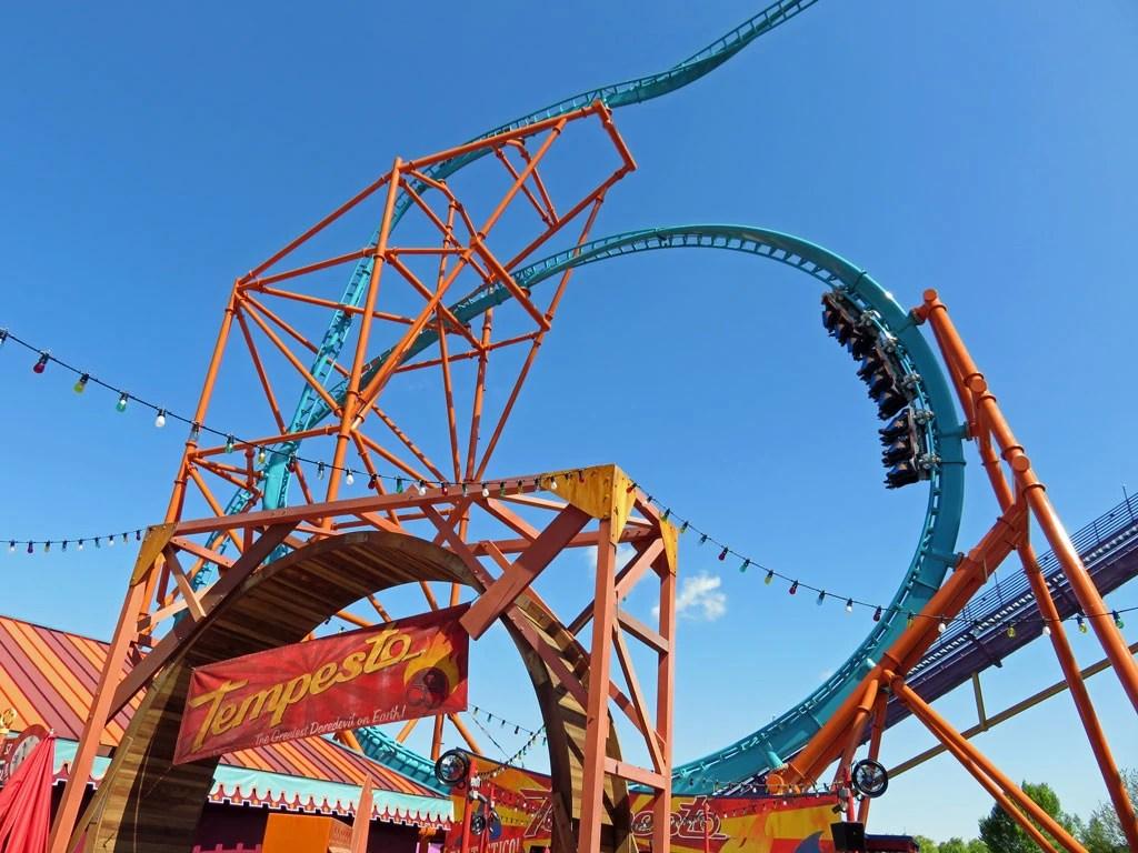 tempesto roller coaster wiki