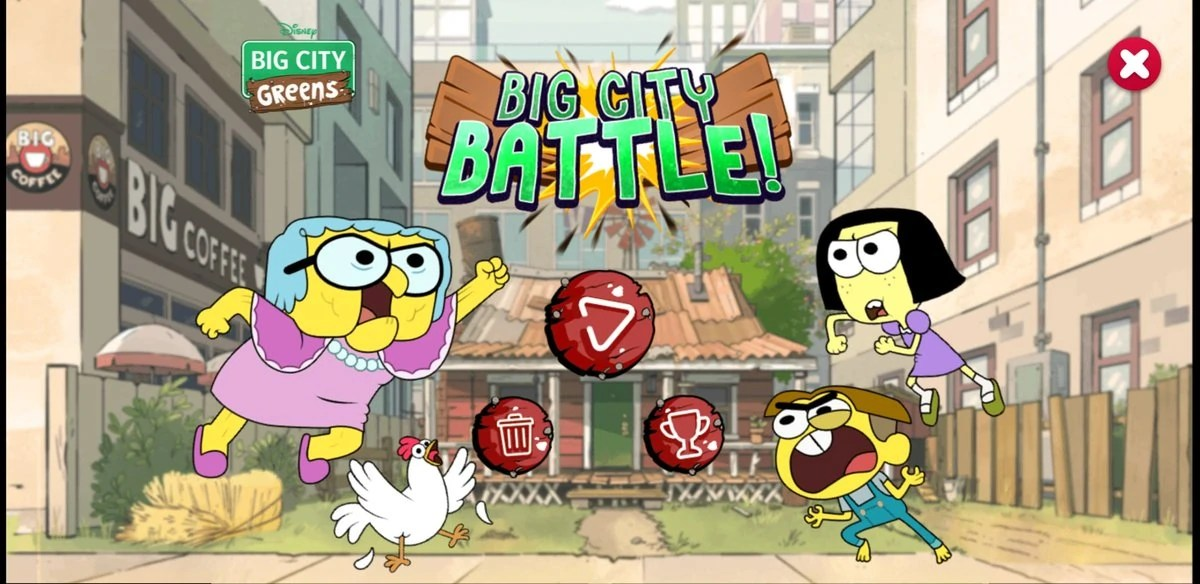 Big City Battle Big City Greens Wiki Fandom