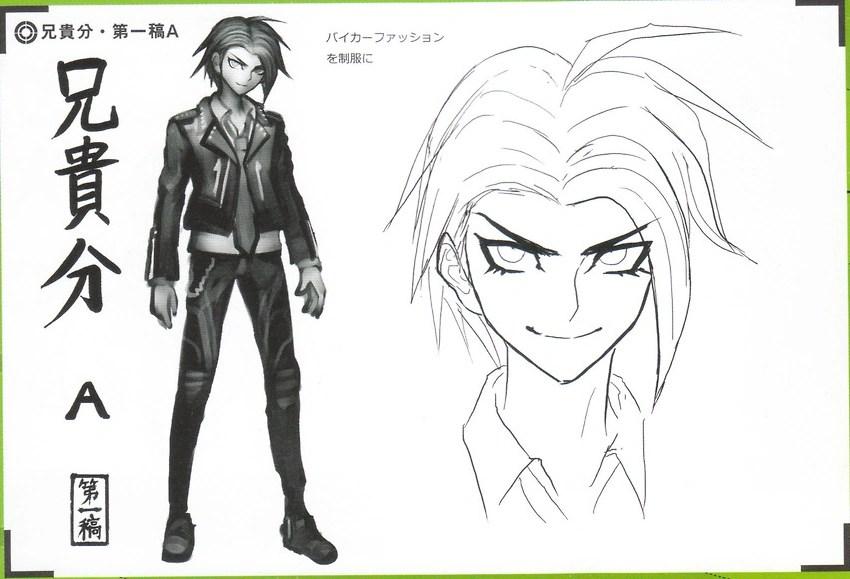 Danganronpa Ultra Despair Girls Cast Wallpaper Image Art Book Scan Danganronpa V3 Character Designs