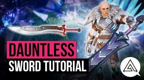 Sword  Dauntless Info Wiki  FANDOM powered by Wikia