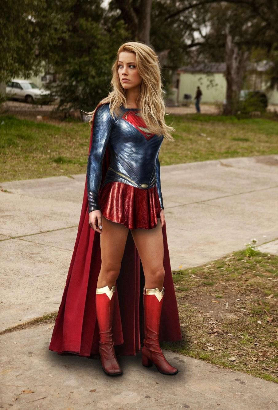 Amber Heard Supergirl Tv Series - Year of Clean Water