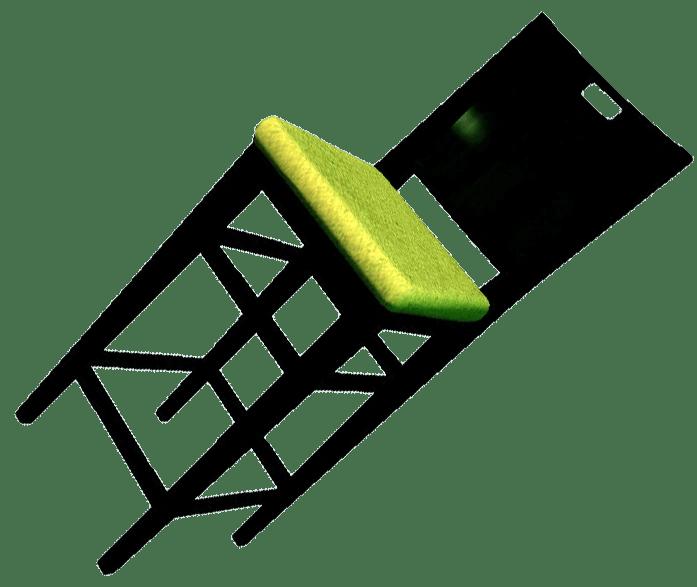 Cushioned Tall Chair