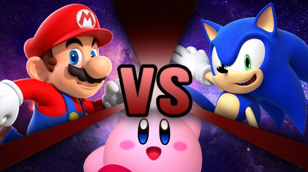 Mario Vs Kirby Vs Sonic Death Battle Fanon Wiki FANDOM