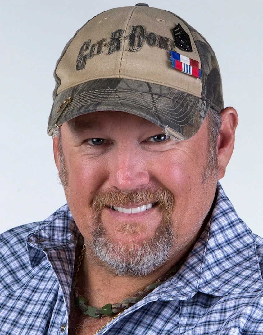 hight resolution of larry the cable guy