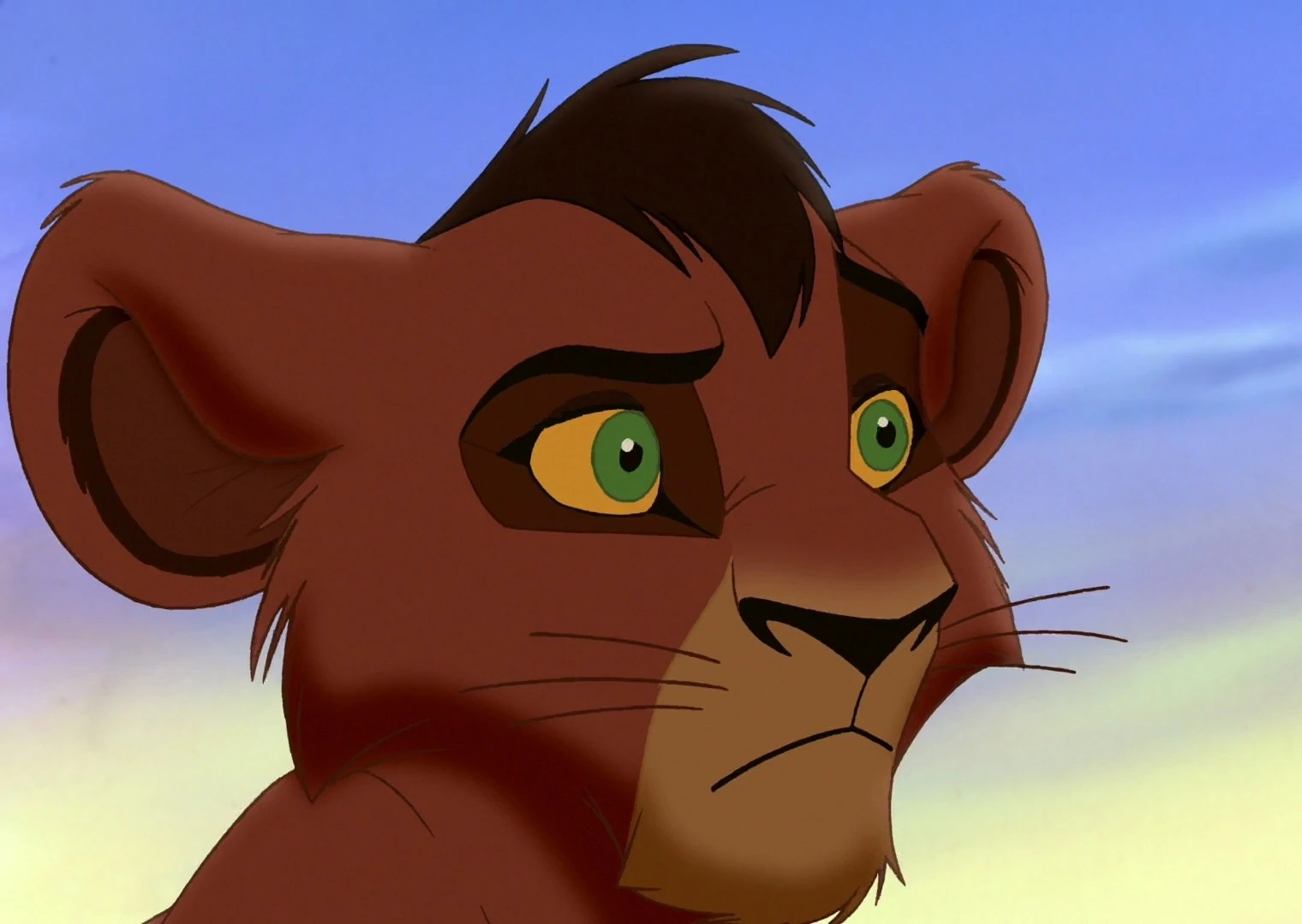 Lion Base Cub Kovu King