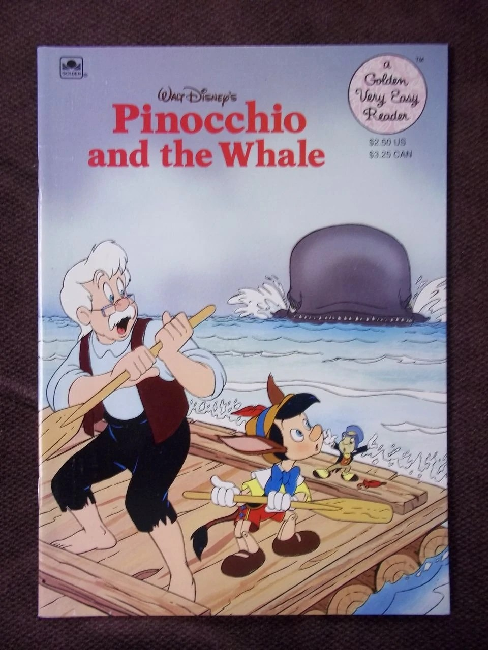 Pinocchio And The Whale Golden Very Easy Reader Disney