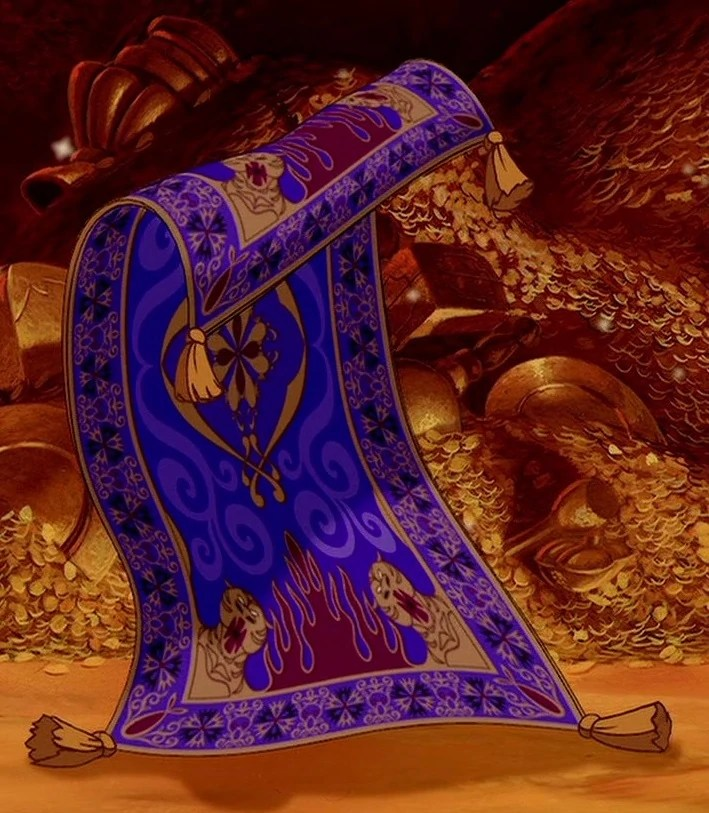 aladdin flying carpet
