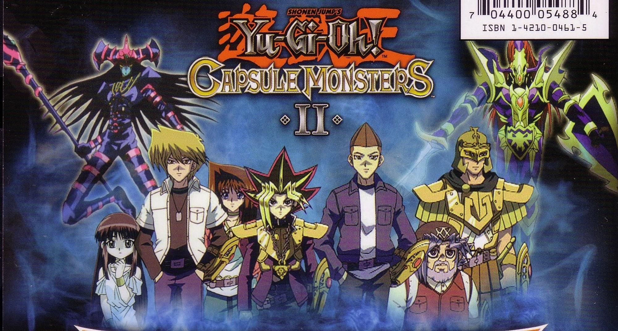 yugioh capsule monsters game