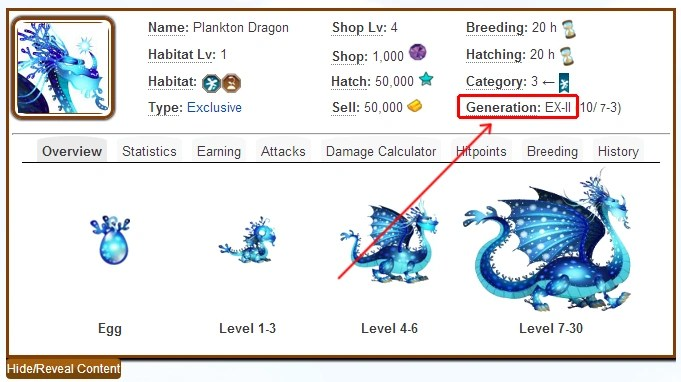 tutorial breeding exclusives dragon