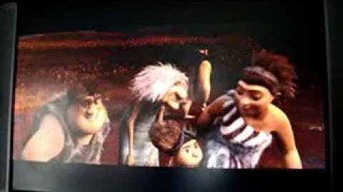 Opening to Rise of the Guardians DVD  Dreamworks