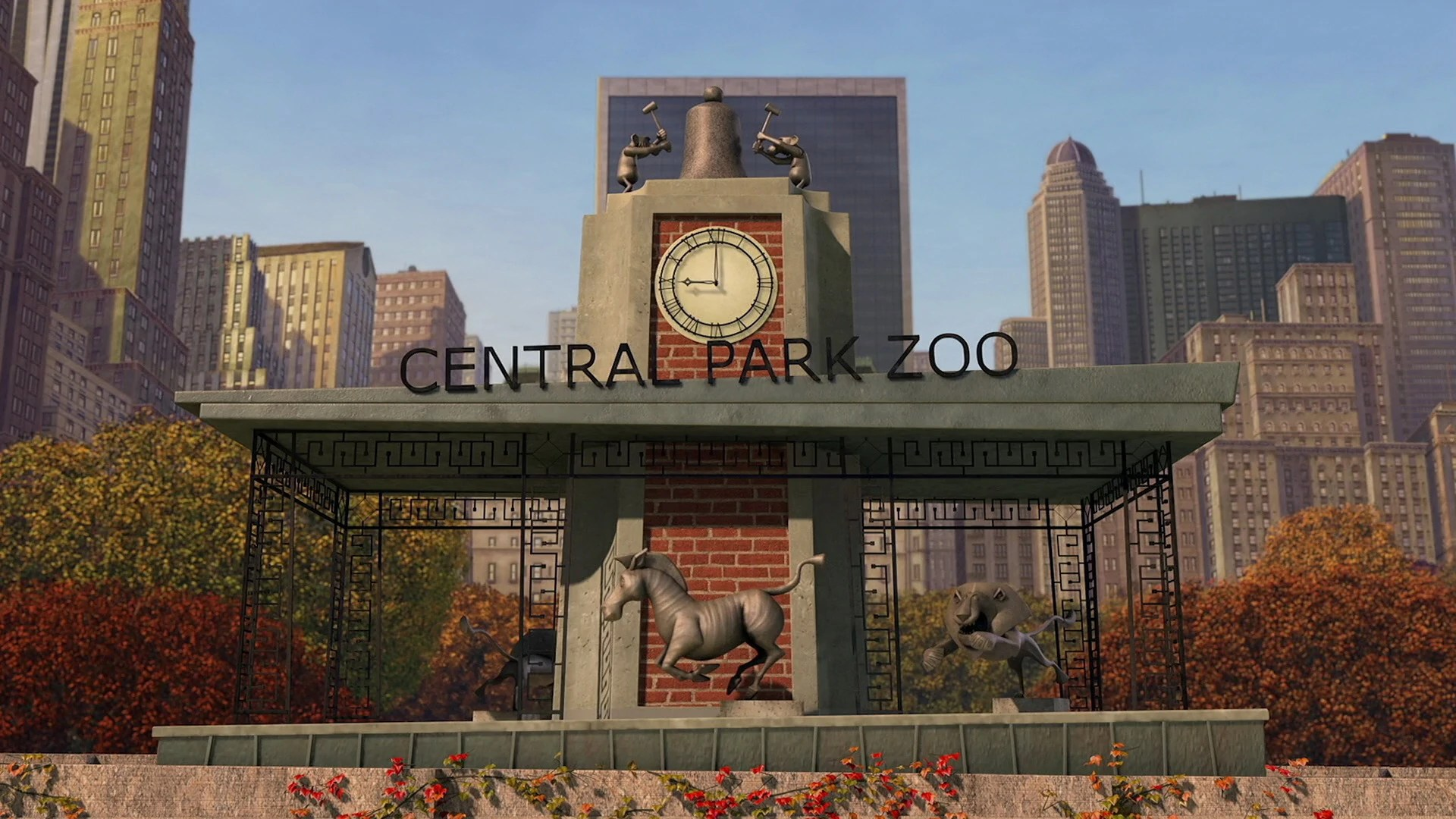 Central Park Zoo Dreamworks Animation Wiki Fandom Powered Wikia