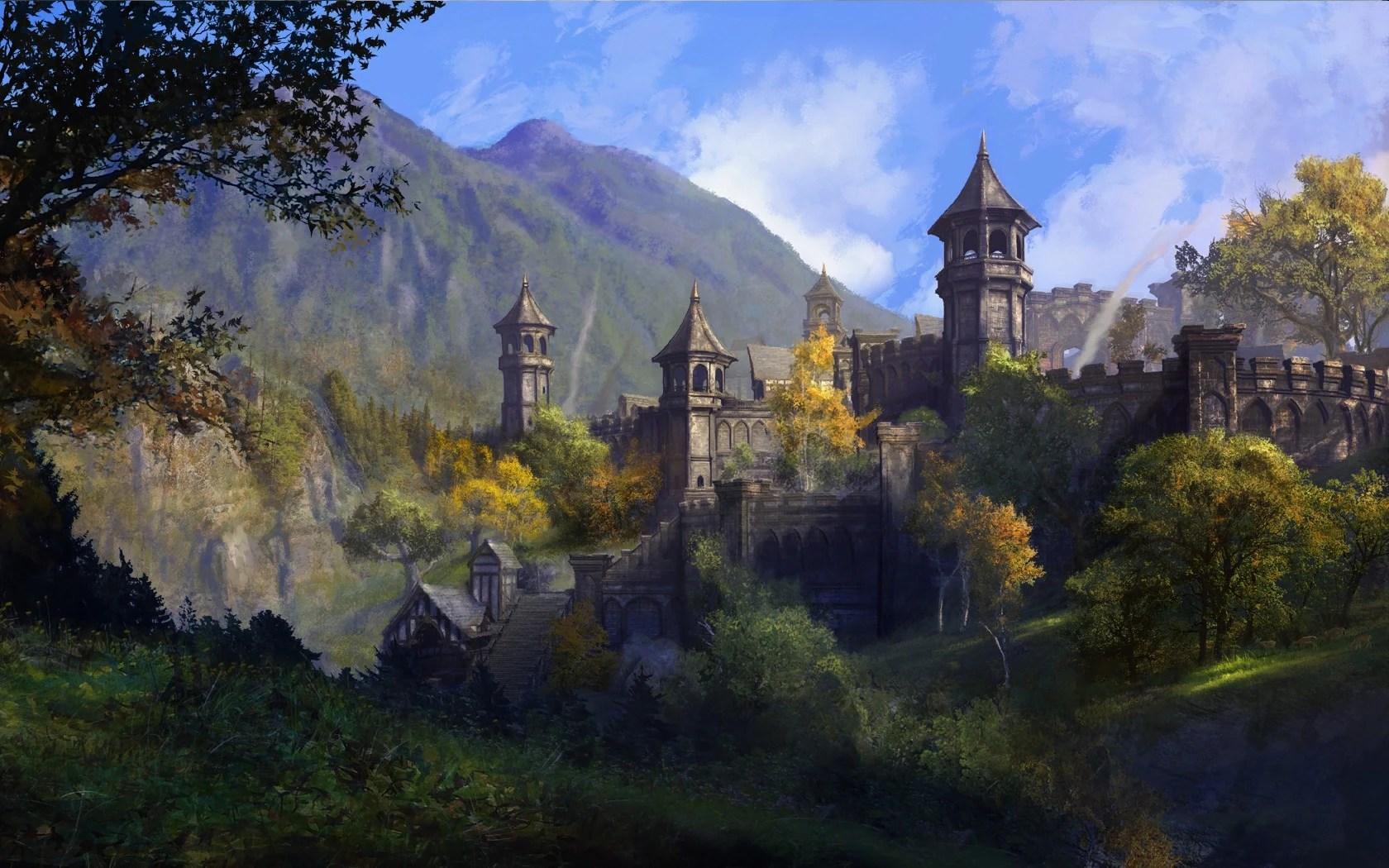 Skyrim Fall Wallpaper Hd High Rock Elder Scrolls Fandom Powered By Wikia