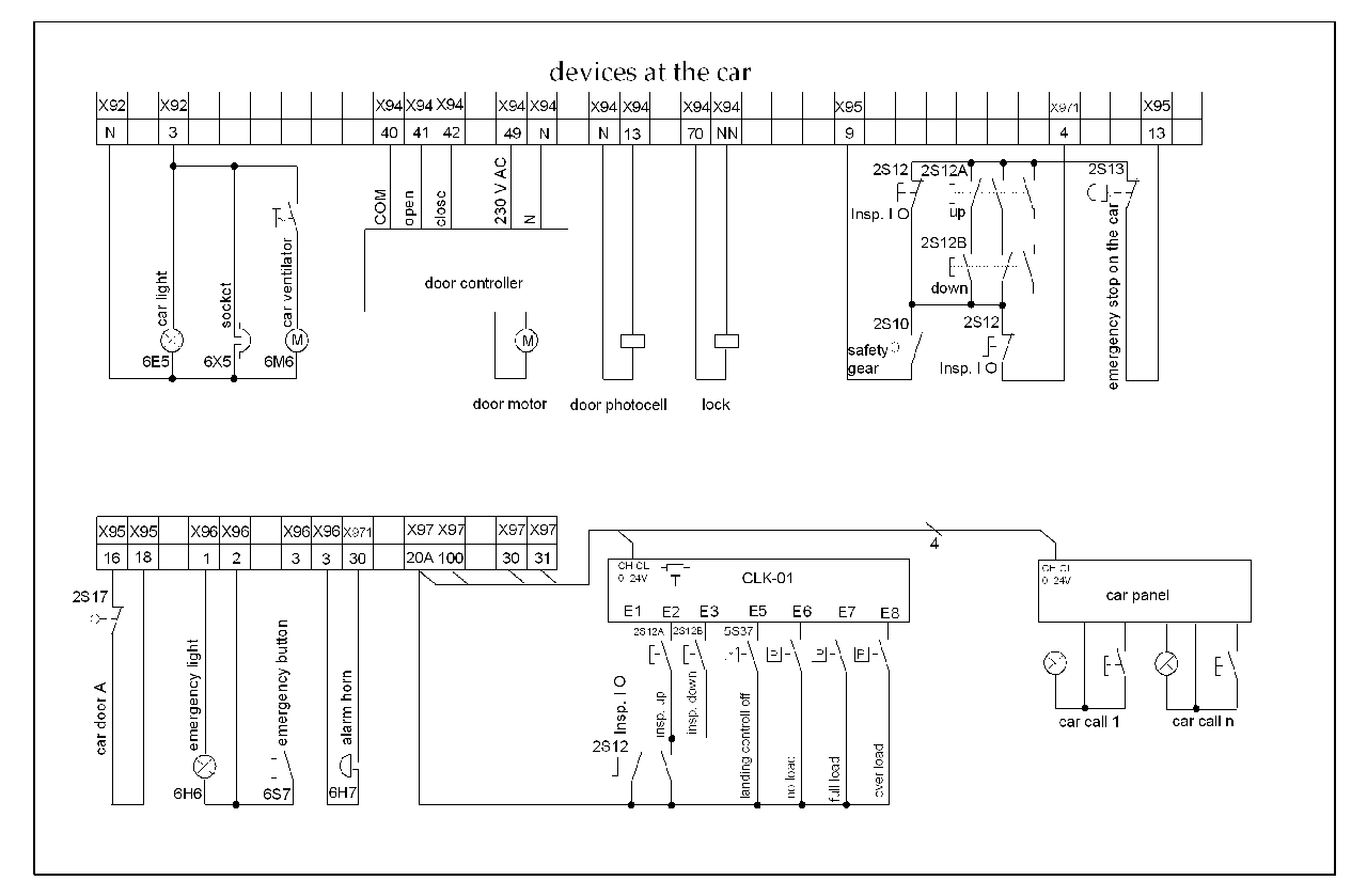 elevator circuit diagram wiring diagram blogs elevator electrical wiring electrical diagram of elevator [ 1280 x 839 Pixel ]