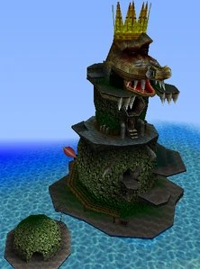 K Rools Mobile Island Fortress The Evil Wiki FANDOM Powered By Wikia