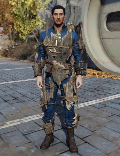 Wood armor  Fallout Wiki  FANDOM powered by Wikia