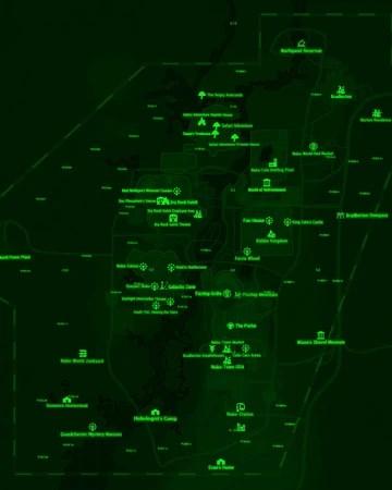 Nuka World Location Fallout 4 : world, location, fallout, Fallout, World, Current, Florida