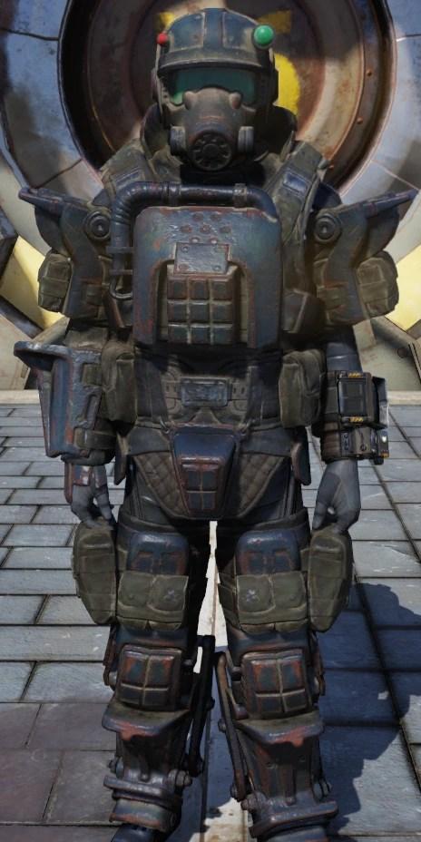Marine Armor Fallout 76 Fallout Wiki FANDOM Powered By Wikia