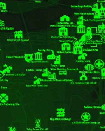 Vault Locations Fallout 4 : vault, locations, fallout, Street, Station, Fallout, Current