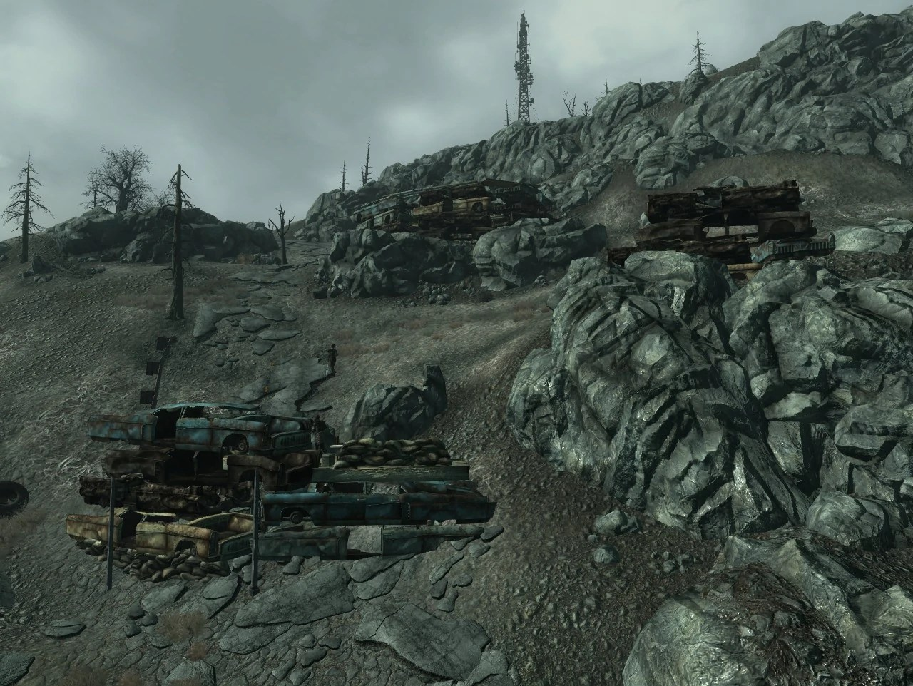 Raider Wreckage Fortifications Fallout Wiki Fandom